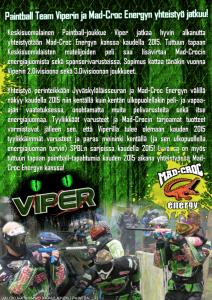 Viper - Mad-Croc -yheistyö 2015 -juliste
