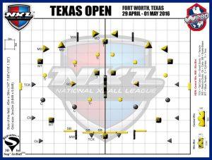 NXL Texas Open 2016 -layout