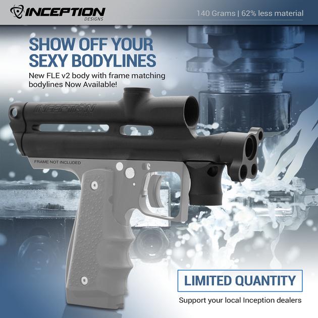 Inception Design FLE V2 Autococker Body Kit